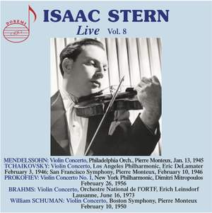 Isaac Stern Live, Vol.8 Product Image
