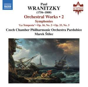 Wranitzky: Orchestral Works Vol. 2 - Symphonies Product Image