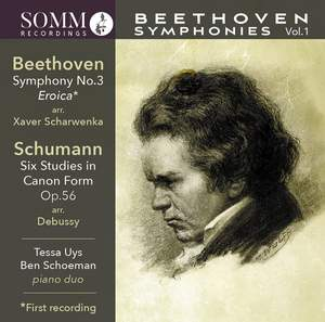 Ludwig van Beethoven: Symphonies for Piano Duo, Vol.1 Product Image
