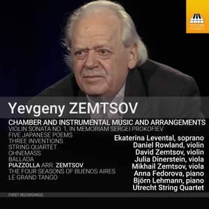 Yevgeny Zemtsov: Chamber & Instrumental Music & Arrangements