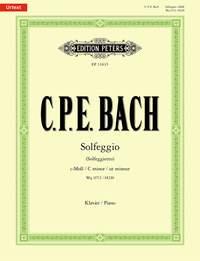 CPE Bach: Solfeggio WQ117/2 / H220