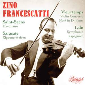 Zino Francescatti plays Lalo & Vieuxtemps