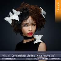 Vivaldi: Concerti Per Violino IX, 'le Nuove Vie'