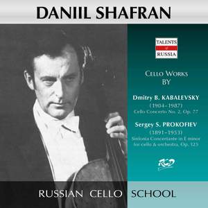 Kabalevsky: Cello Concerto No. 2, Op. 77 - Prokofiev: Sinfonia Concertante, Op. 125 Product Image