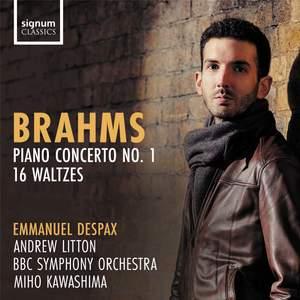 Brahms: Piano Concerto No. 1 Op. 15 & 16 Waltzes Product Image