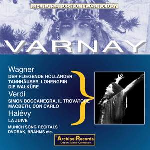 Wagner, Grieg & Others: Vocal Works (Live)