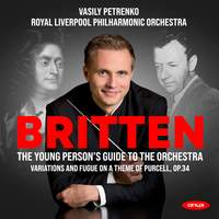Britten: Young Person's Guide to the Orchestra, Variations & Fugue on a theme by Purcell, Op. 34