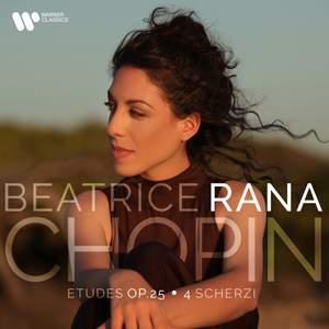 Chopin: Études, Op. 25 & 4 Scherzi