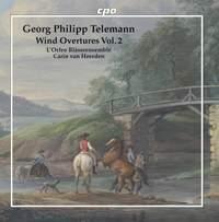 Telemann: Wind Overtures, Vol. 2