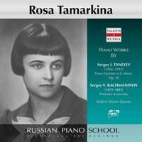 Taneyev & Rachmaninoff: Works