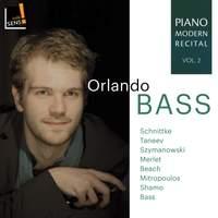 Piano Modern Recital Vol.2: Music By Szymanowski; Schnittke; Merlet; Taneyev
