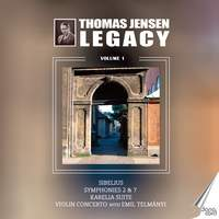 Jean Sibelius: Thomas Jensen Legacy, Vol. 1