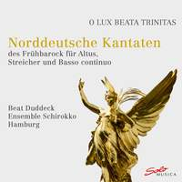 North German cantatas of the early baroque for alto, strings and basso continuo
