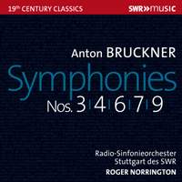 Bruckner: Symphony Nos. 3, 4, 6, 7 & 9