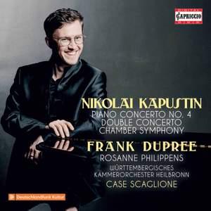 Kapustin: Piano Concerto No. 4, Concerto for Violin & Piano & Chamber Symphony Product Image