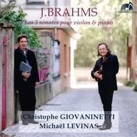 Brahms: The 3 Sonatas for Violin and Piano