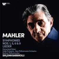 Mahler: Symphonies Nos. 1, 5, 6, 9 & Lieder