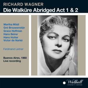 Die Walküre - Abridged Act 1 and 2 Product Image