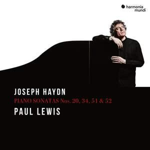 Joseph Haydn: Piano Sonatas Nos. 20, 34, 51 & 52 Product Image