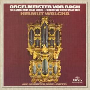 Organ Masters Before Bach