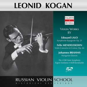Lalo, Mendelssohn & Brahms: Works (Live) Product Image