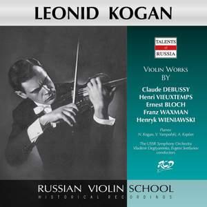 Wieniawski, Debussy & Others: Violin Works