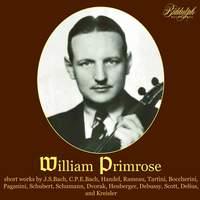 William Primrose plays Baroque sonatas and encore pieces