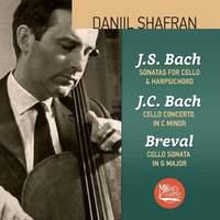J.S. Bach: Sonatas for Cello & Harpsichord; J. C. Bach; Cello Concerto in C minor; Breval: Cello Sonata in G major