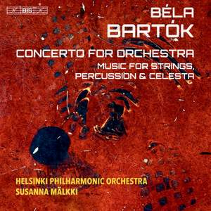 Bartók: Concerto for Orchestra, Music for String Percussion & Celesta Product Image