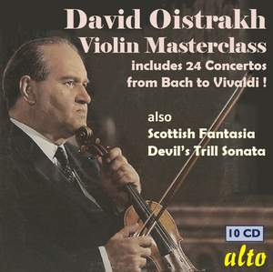 David Oistrakh - Violin Masterclasses