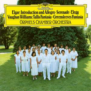 Elgar: Serenade For Strings; Elegy; Vaughan Williams: Fantasia On A Theme By Thomas Tallis; Fantasia On Greensleeves; Purcell: Ciacona in G Minor