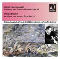 Rachmaninoff: Rhapsody on a Theme of Paganini, Op. 43 - Dohnányi: Variations on a Nursery Tune, Op. 25