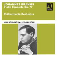 Leonid Kogan conducted by Kondrashin plays Brahms Violin Concerto 1958