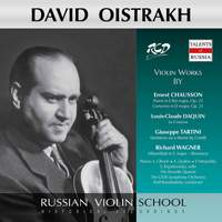 Chausson, Daquin & Others: Violin Works (Live)