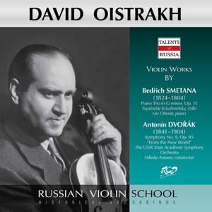 Smetana: Piano Trio, Op. 15 - Dvořák: Symphony No. 9, Op. 95 'From the New World'
