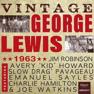 Vintage George Lewis 1963