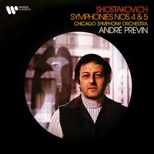 Shostakovich: Symphonies Nos. 4 & 5 Product Image