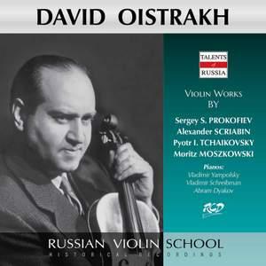 Prokofiev, Scriabin & Others: Works for Violin & Piano (Live)