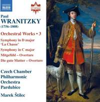 Paul Wranitzky: Orchestral Works, Vol. 3