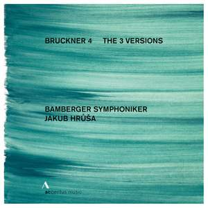 Bruckner: Symphony No. 4 - The 3 Versions Product Image