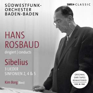 Rosbaud Conducts Sibelius Product Image