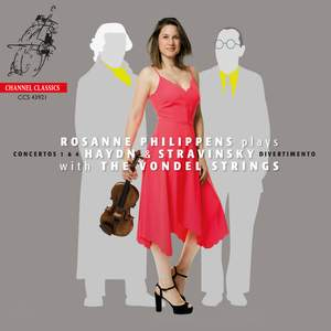 Rosanne Philippens plays Haydn and Stravinsky