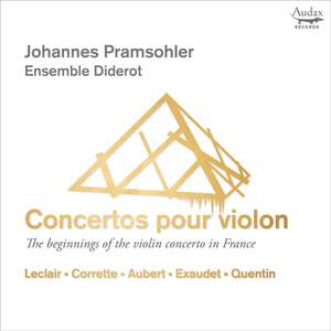 The Beginnings of the Violin Concerto in France Product Image