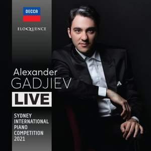 Alexander Gadjiev - Live