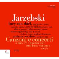 Jarzebski: Canzoni E Concerti A Due, Tre E Quattro Voci Cum