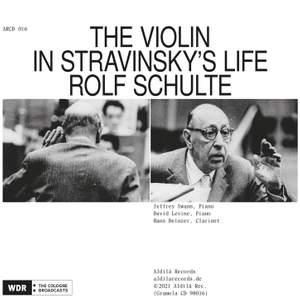 The Violin in Stravinsky's Life