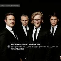 Korngold: String Quartet Nos. 2, Op. 26 & No. 3, Op. 34