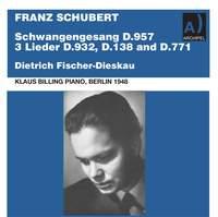 Schubert: Art Songs