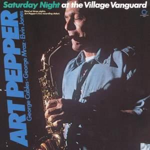 Saturday Night At Village Vanguard