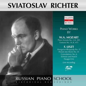 Mozart & Liszt: Piano Works (Live)